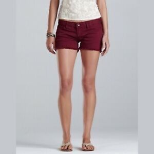 Riley Maroon Lucky Brand Short